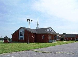 Rileyville, Virginia - Rileyville Baptist Church in Rileyville