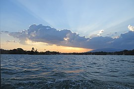Boat ride on the Rio Dulce