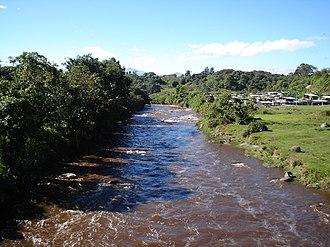 Cauca River - Image: Rio cauca popayan