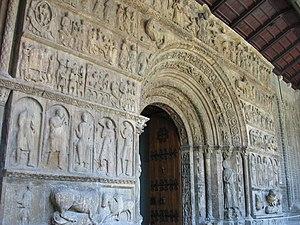 Santa Maria de Ripoll - Portal.