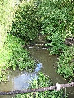 River Cale at Wincanton - geograph.org.uk - 451900