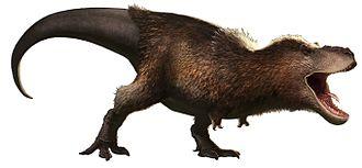 Cretaceous - Image: Rjpalmer tyrannosaurusrex (white background)
