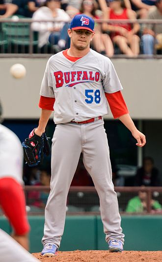 Rob Rasmussen - Rasmussen with the Buffalo Bisons
