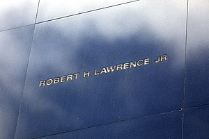 Space Mirror Memorial for Robert Henry Lawrence Jr., 1966 NASA T-38 crash