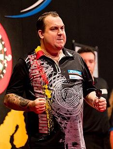 Kim Huybrechts Belgian darts player