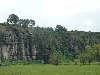 El Abra - Image: Rocas del abra zipaquira area rural