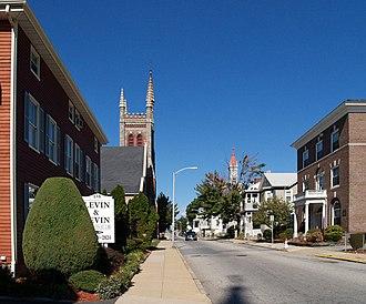 Lower Highlands Historic District - Rock Street