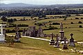Rock of Cashel-10-Grabkreuze-Hore Abbey-1989-gje.jpg