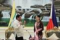 Rodrigo Duterte and Burmese State Counsellor Aung San Suu Kyi.jpg