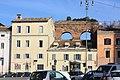 Rom, Aquädukt am Platz Piazza San Giovanni in Laterano.JPG