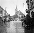 Románia 1940, Dés, Református templom. Fortepan 4611.jpg