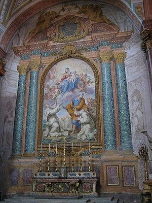 Pietro Bianchi (painter) - Immaculate Conception by Bianchi, Santa Maria degli Angeli, Rome