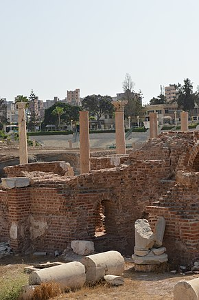 Roman Theater in the city of Alexandria . Egypt .1.JPG