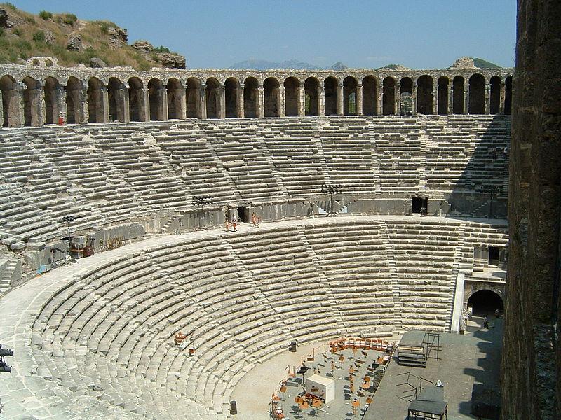 Dosya:Roman theater in Aspendos.jpg