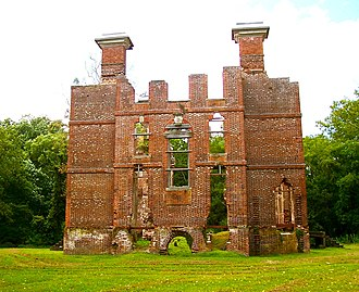 Rosewell (plantation) - Ruins of Rosewell.
