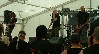Grindcore - Finnish grindcore group Rotten Sound performing in Kuopio in 2008