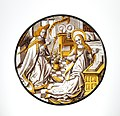 Roundel with Annunciation to the Virgin MET DP241181.jpg