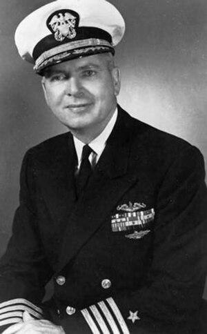 Roy M. Davenport - Rear Admiral Roy Milton Davenport (then Captain)