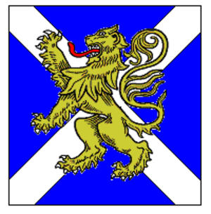Saltire - Image: Royal Regiment of Scotland TRF