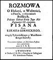 Rozmowa o elekcyi, o wolnosci, o prawie y obyczaiach polskich - podczas elekcyi krola Zygmunta III czyniona 1750 (76784298).jpg
