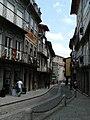 Rua da Rainha vista em direcção à Praça da Oliveira.jpg