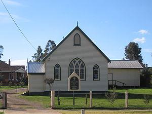 Rushworth, Victoria - Image: Rushworth Presbyterian Church