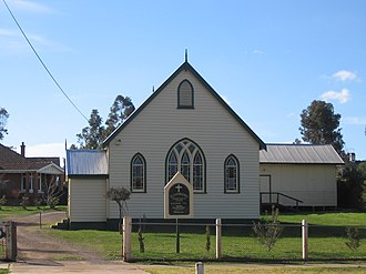 Rushworth, Victoria - Image: Rushworth Presbyterian Church
