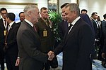 Russian and American Heads of the Military Departments meet for the first time in Singapore.jpg