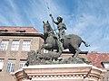 Sárkányölő Szent György-szobor, Szeged, Rerreich Béla tér. 2011-02-12 - panoramio.jpg