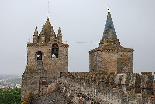 Sé Catedral de Évora - No telhado (3)