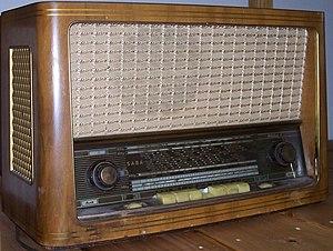 SABA (electronics manufacturer) - 1950s era SABA radio.