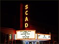 SCADs Trustees Theater Marquee -- 216 East Broughton Street Savannah (GA) 2012 (7755002334).jpg
