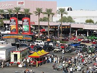 SEMA - The 2008 SEMA Show at the Las Vegas Convention Center