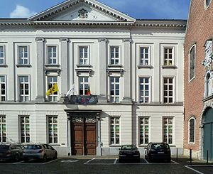 St. Joseph Minor Seminary - 18th century facade