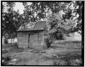 SMOKEHOUSE, SOUTHEAST FRONT C - W. Frank Anderson Farm, County Road 239, Ruckersville, Elbert County, GA HABS GA,53-RUCK.V,3-6.tif