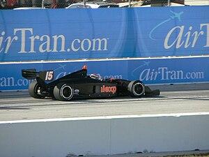 Dillon Battistini - Battistini driving in Indy Lights at St. Petersburg