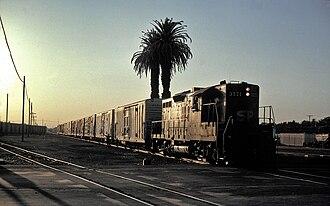 Los Banos, California - Switching in Los Banos, 1991