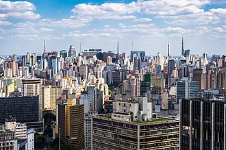 The city view from Altino Arantes Building SP from Altino Arantes Building.jpg