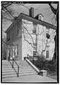 STEPS AND SOUTH ELEVATION, FROM SOUTHWEST - Solitude, Zoo grounds, Philadelphia, Philadelphia County, PA HABS PA,51-PHILA,30-6.tif