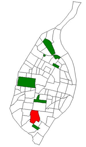 Bevo Mill, St. Louis - Image: STL Neighborhood Map 05