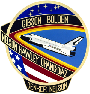 Franklin Chang Díaz - Image: STS 61 c patch