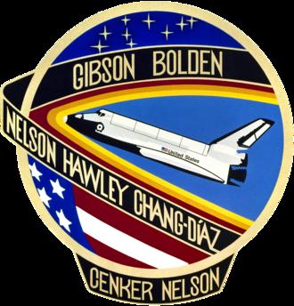 Franklin Chang Díaz - Image: STS 61 c patch