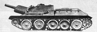 SU-122 self-propelled gun