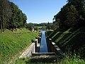 """Saône river and eastern entrance of """"le tunnel-canal de Saint-Albin"""", département de la Haute-Saône, France. - panoramio.jpg"""