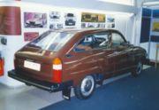 Saab 98 in the Saab Museum