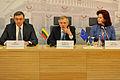 Saeimas priekšsēdētāja piedalās ES nacionālo parlamentu spīkeru konferencē Viļņā (13689441874).jpg