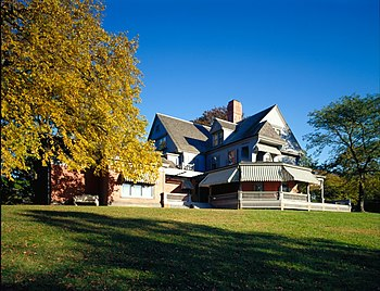Theodore Roosevelt home at Sagamore Hill