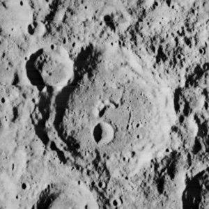 Saha (crater) - Image: Saha crater 2196 med