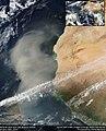 Saharan Dust Atlantic Suomi NPP VIIRS (27105092465).jpg