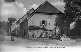 Saint-Jean-d'Hérans in 1905